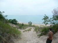 Lake Michigan, Indiana Dunes.