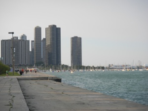 The Lakefront Trail.