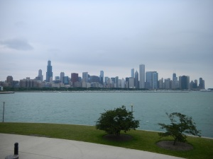 Chicago as seen from Museum Campus.