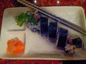 Sushi at Asia Bistro